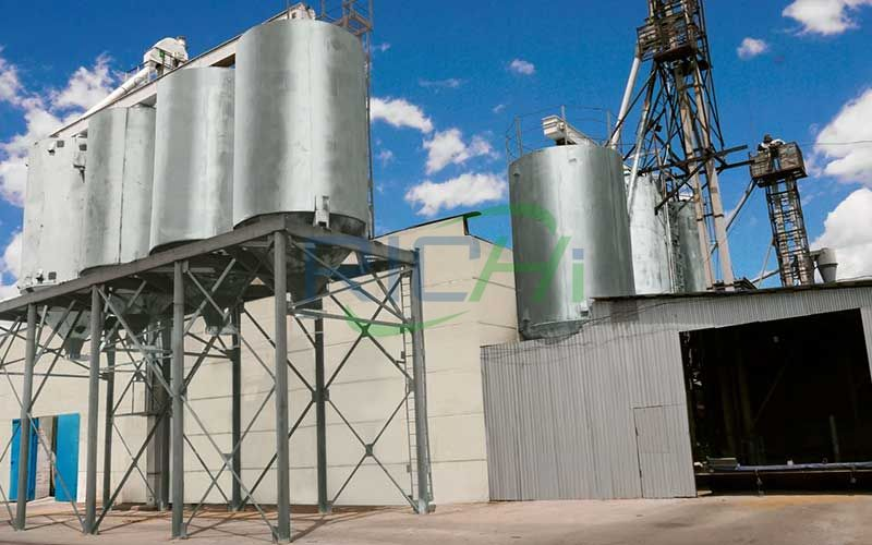 New large-scale feed pellet production line project