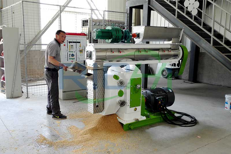 Qatar 3-5T/H Feed Pellet Machine