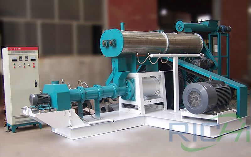 Why Choose Extruder for Aquatic Feed Production