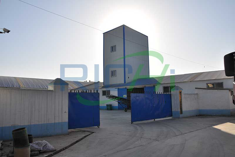 Algeria Two Sets 3-5T/H poultry Feed Pellet Lines