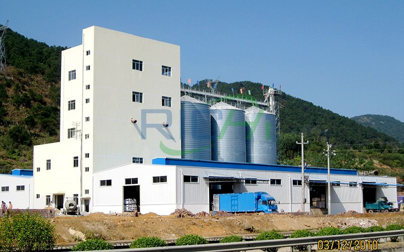 Fish Feed and Poultry Pig Feed Pellet Production Line