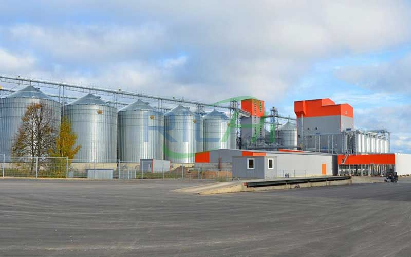 Large-scale animal feed pellet production line project