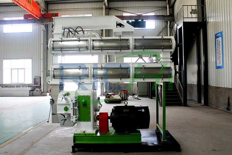 UK 5-6T/H Cat Litter Pellet Making Machine