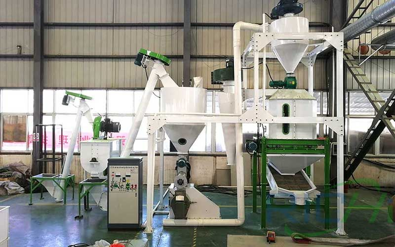 1 Ton/H Sheep & Cattle Feed Production Line