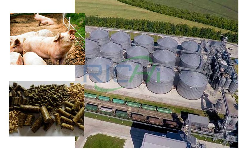 600,000 Tons of High-grade Pig Feed Pellet Production Line Project
