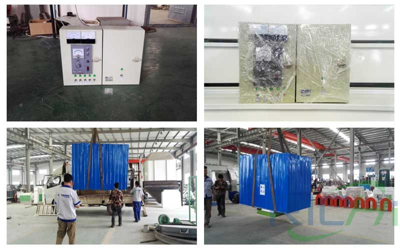 1-2T/H chicken Feed Pellet Line delivery site
