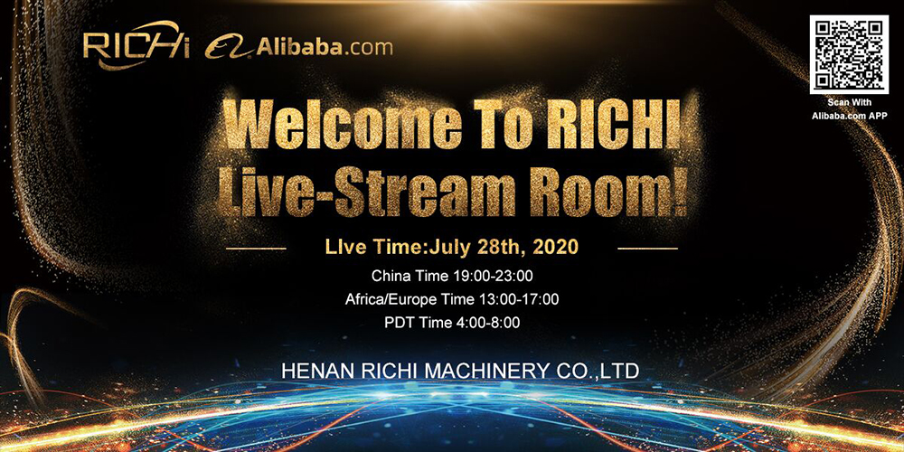 Welcome To The Feed Pellet Machine Manufacturer-richi Machinery Live Room