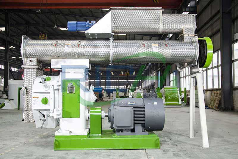 Uzbekistan 3-5T/H Animal Pellet Feed Machine