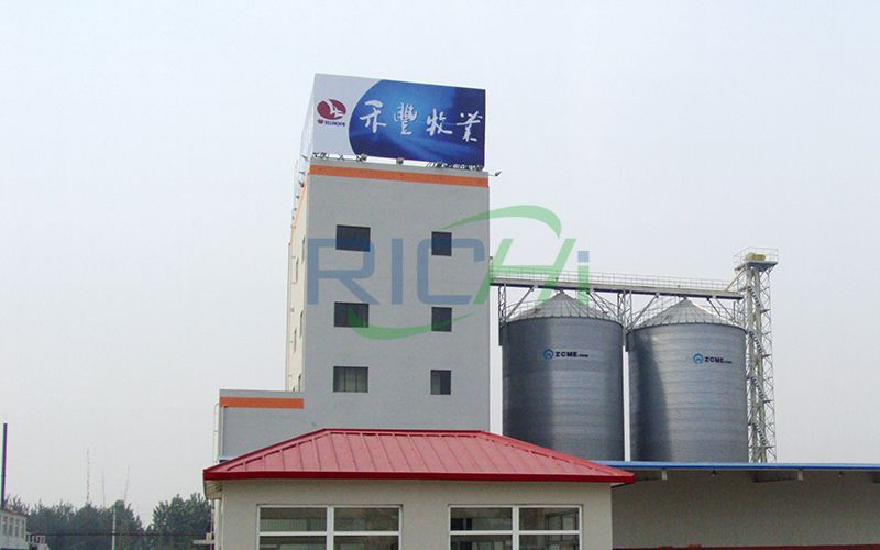 Large Dairy Cow feed Plant
