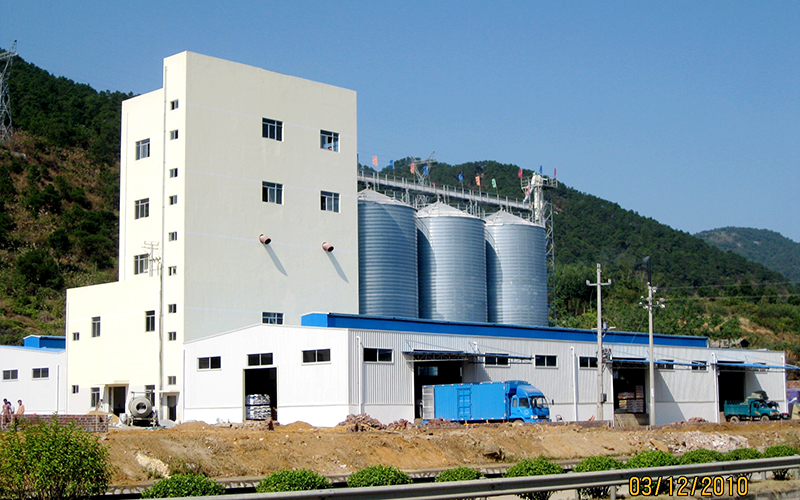 25 Tons/hour Poultry Feed Pellet Production Line