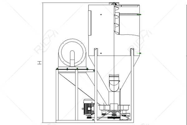 Small Feed Grain Crusher and Mixer