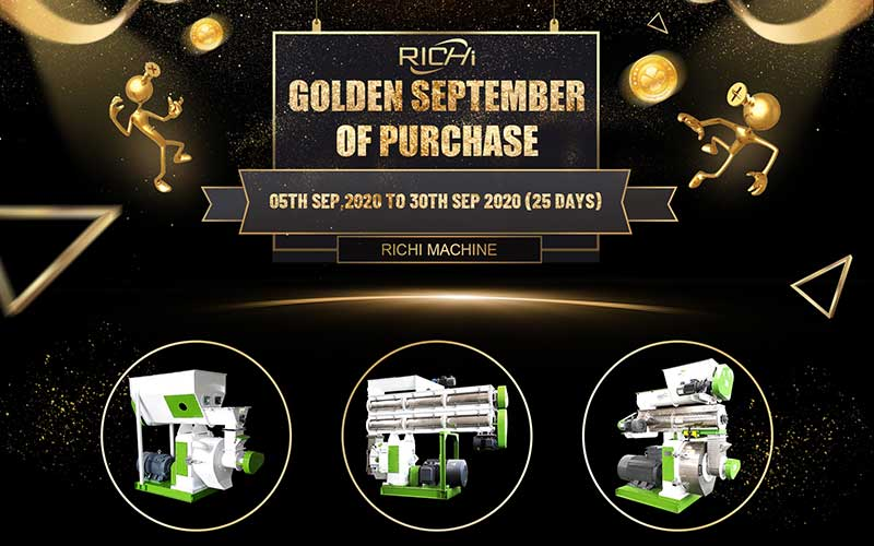 Richi Machinery September Gold Purchasing Festival