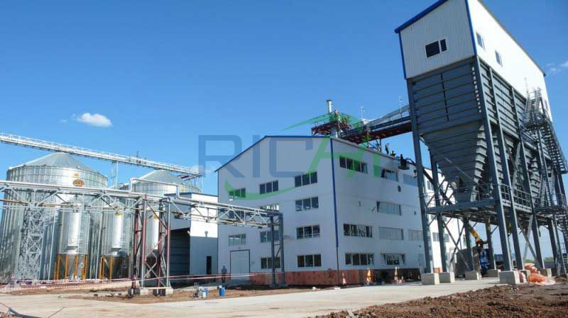 Large-scale livestock feed pellet production line project