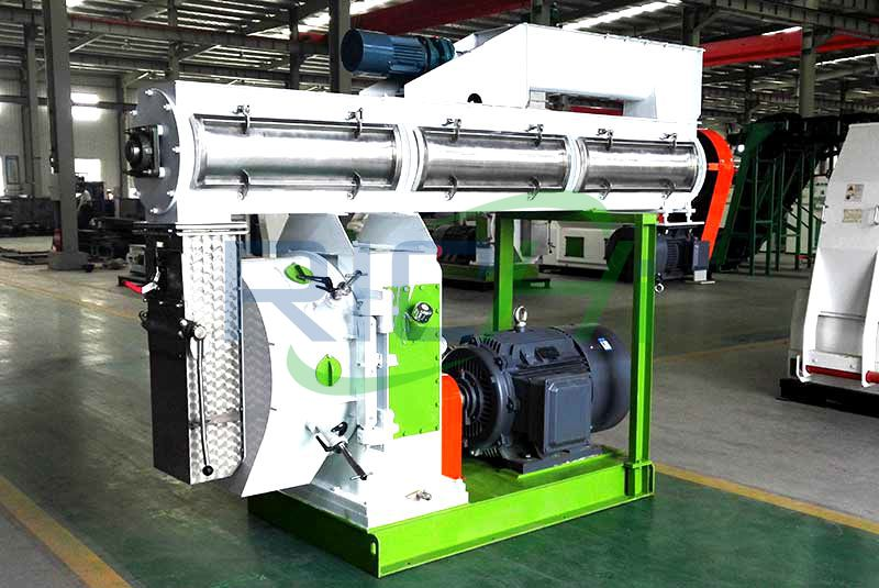 5-7 T/H Feed Pellet Machine